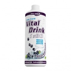 Best Body Nutrition Low Carb Vital Drink Cassis, Boisson