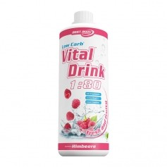 Best Body Nutrition Low Carb Vital Drink Framboise, Boisson