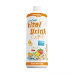 Best Body Nutrition, Low Carb Vital Drink multifruit, boisson