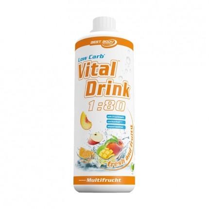 Best Body Nutrition, Low Carb Vital Drink multifruit, boisson