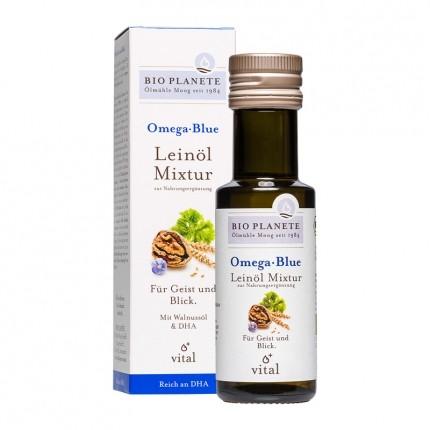 Bio Planete Bio Omega Blue Leinöl Mixtur (100 ml)