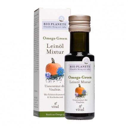 Bio Planete Bio Omega Green Leinöl Mixtur (100 ml)