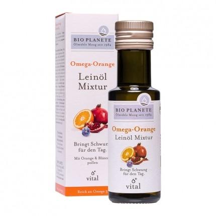 Bio Planete Bio Omega Orange Leinöl Mixtur (100 ml)