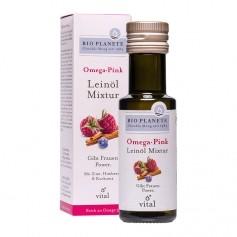 Bio Planete Bio Omega Pink, Leinöl Mixtur