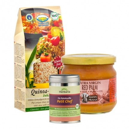 Veganes Quinoa-Koch-Paket
