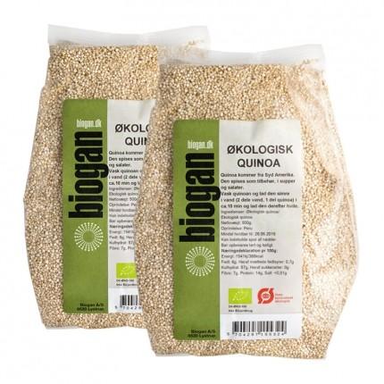 2 x Biogan Økologisk Quinoa