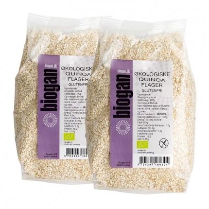 2 x Biogan Økologisk Quinoa Flager