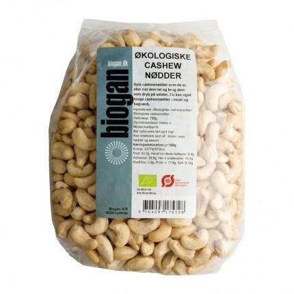 Biogan Økologisk Cashewnødder