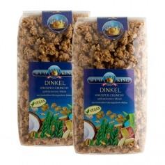 2 x BioKing Bio Crunchy Dinkel, Müsli