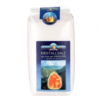 BioKing Himalaya Halit-Kristallsalz, gemahlen