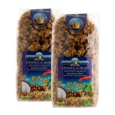 2 x BioKing Bio Granola-Nuss, Crunchy-Müsli
