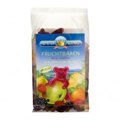BioKing, Oursons aux fruits sans gélatine