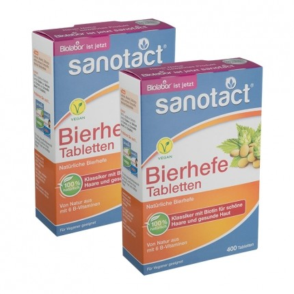 Bierhefe (2 x 400 Tabletten)