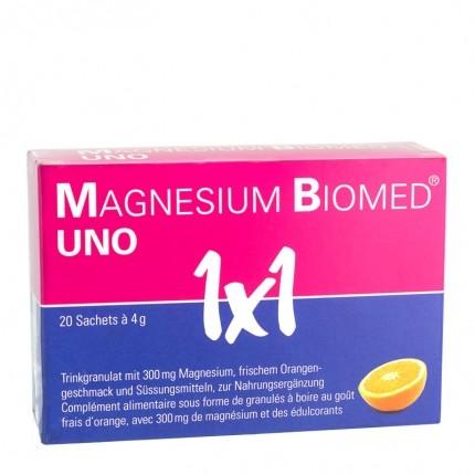 Magnesium Biomed UNO, Trinkgranulat
