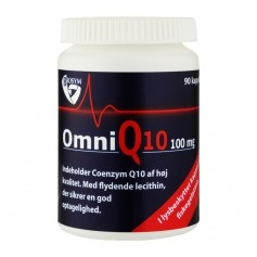 OmniQ10 100 mg, 120 kapsler