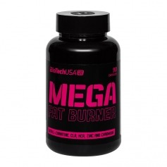 BioTech USA Active Mega Fat Burner, tabletter