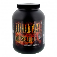 BioTech USA BRUTAL Muscle On Erdbeer, Pulver