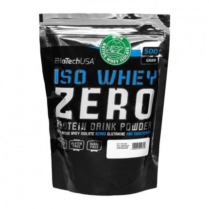 BioTech USA Iso Whey Zero Laktosefrei Schokolade, Pulver