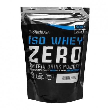 BioTech USA Iso Whey Zero, Vanille, Pulver (500 g)