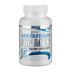 BioTech USA Multivitamin för män, tabletter