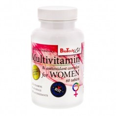 BioTech USA Multivitamin für Frauen, Tabletten