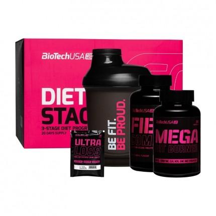 BioTech USA Pink Fit Easy Kit, Set