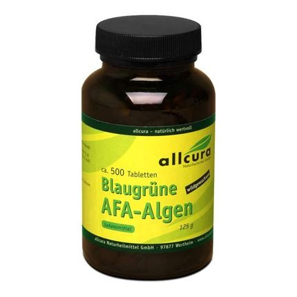 Blågröna AFA-alger, Tabletter