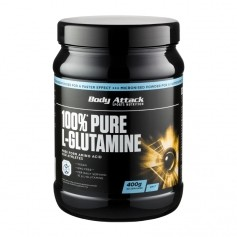 Body Attack 100% Pure Glutamine, Pulver