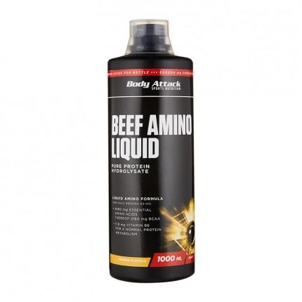 body attack beef amino liquid orange 1000 ml bei nu3. Black Bedroom Furniture Sets. Home Design Ideas
