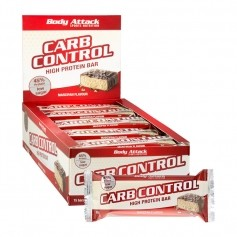 15 x Body Attack Carb Control Marzipan, Riegel