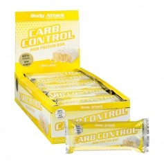 15 x Body Attack Carb Control Lemon Quark, Riegel