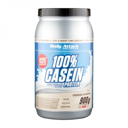 Body Attack Casein Cookies n Cream, Pulver