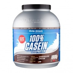 Body Attack Casein Chocolate Cream, Pulver