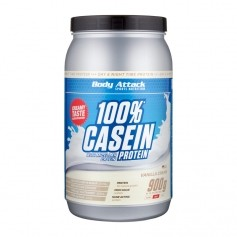 Body Attack Casein Vanilla Cream, Pulver