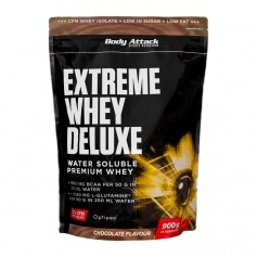 Body Attack Extreme Whey Deluxe Chocolate Cream, Pulver