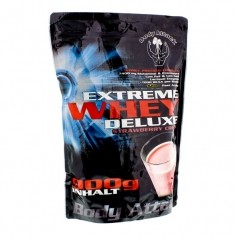 Body Attack Extreme Whey Deluxe Strawberry Cream, Pulver