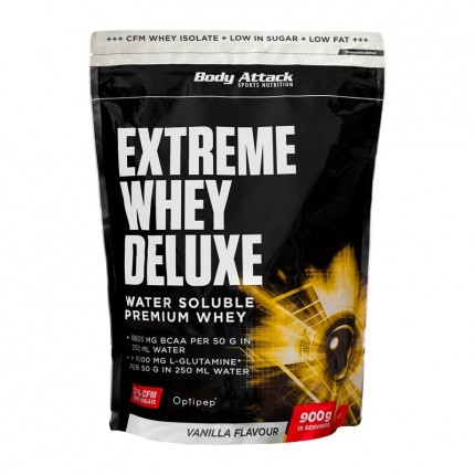 Body Attack Extreme Whey Deluxe, Vanilla Cream,...
