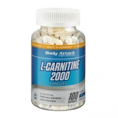 Body Attack, L-Carnitine 1500, gélules