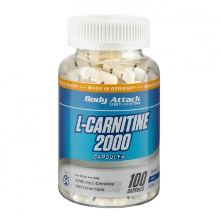 Body Attack, L-Carnitine 1500, gélules