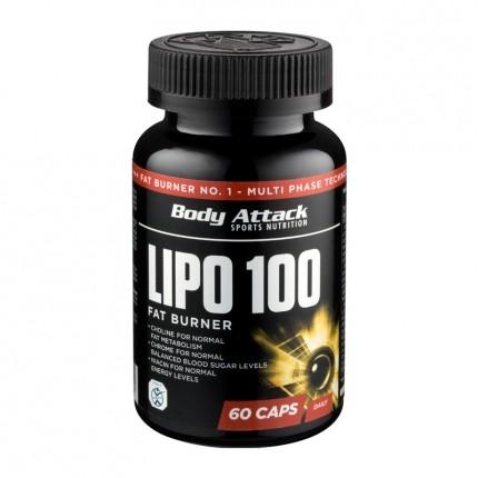 Body Attack Lipo 100, Kapseln