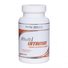Body Attack Multi Vitamin, Tabletten