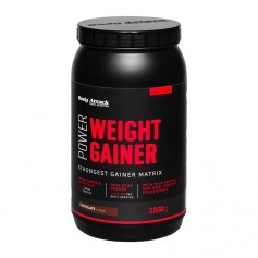 Body Attack Power Weight Gainer Schoko, Pulver