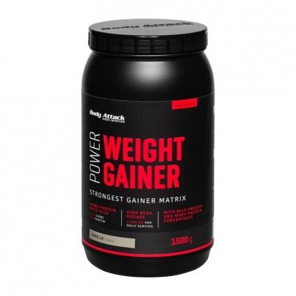 Power Weight Gainer, Vanille, Pulver (1500 g)