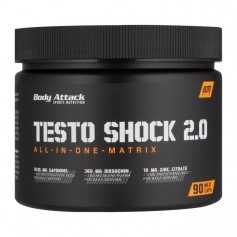 Body Attack, Testo shock