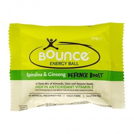 4 x Bounce Energy Ball, Spirulina & Ginseng