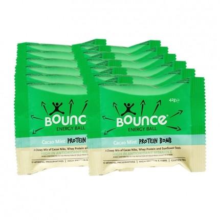 4 x Bounce Energy Ball Kakao & Mint