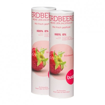 Buah Erdbeere Pur, gefriergetrocknet (2 x 11 g)