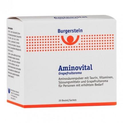 Burgerstein Aminovital mit Grapefruitaroma, Pulver