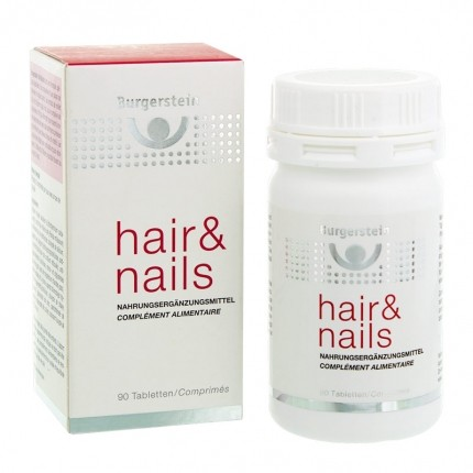 Burgerstein hair&nails, Tabletten