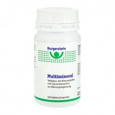 Burgerstein Multimineral, Tabletten